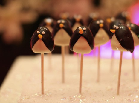 Themed Cake Pops at Contemporary Event