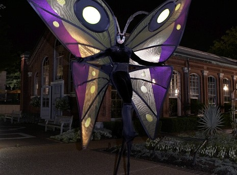 Themed Stilt-Walker for Civic Event Produced by Contemporary