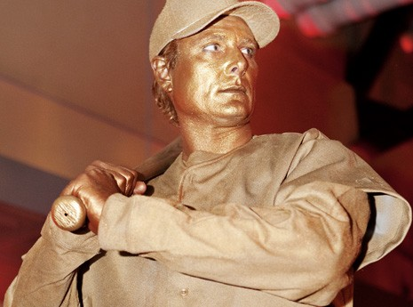 Living Statue at World Series Gala 2011