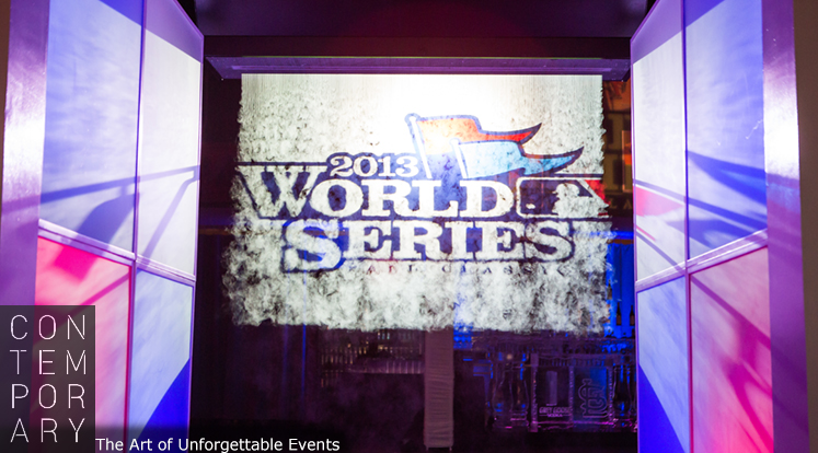 Fog Wall at 2013 World Series Gala produced by Contemporary